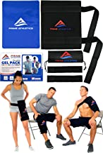 Large Reusable Gel Ice Pack for Injuries with Wrap - Hot & Cold Therapy - Back Knee Shoulder Hip Replacement Surgery - Faster Recovery Pain Relief for Arthritis Swelling Aches & Sprains 11.5x15.5 Blue