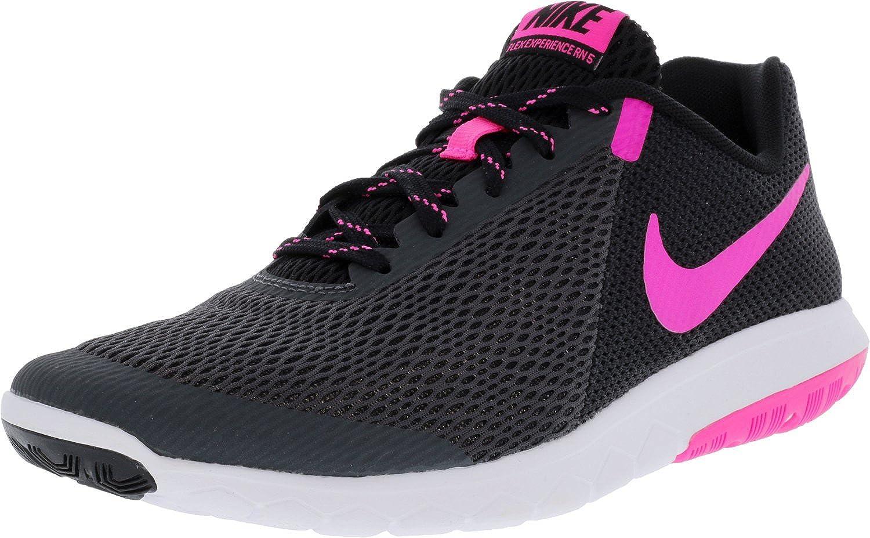 Nike Nike Nike WMNS Flex Experience RN 5Gymnastik-Schuhe Damen, Anthracite pnk Blast blk Weiß, 41 7fb