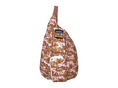 KAVU Mini Rope Bag (Blush Landscape) Bags