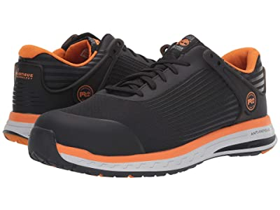 Timberland PRO Drivetrain Composite Safety Toe (Black/Orange) Men