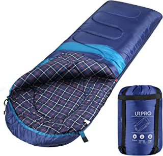 URPRO Sleeping Bag 3-4 Seasons Warm Cold Weather Lightweight, Portable, Waterproof Sleeping Bag with Compression Sack for ...