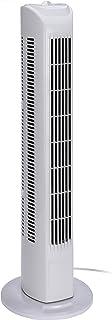 Ventilador de torre de hibuy, con oscilador y 3 velocidades, 80 cm de alto