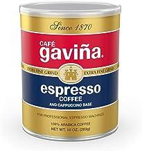 Café Gaviña Espresso Roast Extra Fine Ground Coffee, 10-Ounce Can