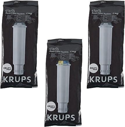 5x Wasserfilter Schraubanschluss Artese Espressoautomat Original SEB Krups F088