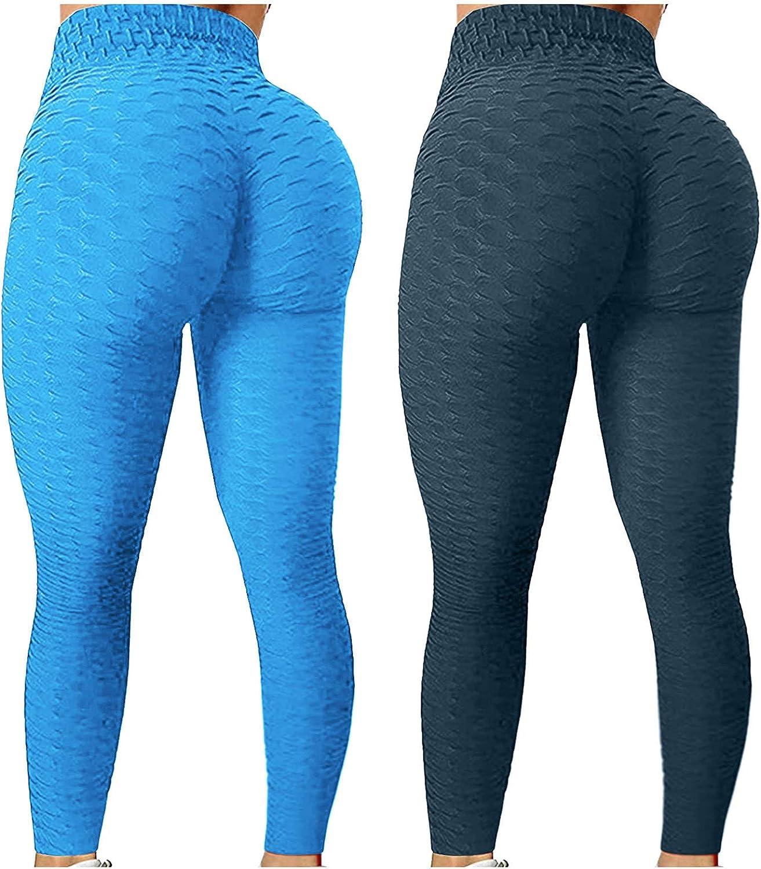 2PC TIK Tok Leggings Yoga Pants Superlatite Challenge the lowest price of Japan for Butt Women T Waist High Lift