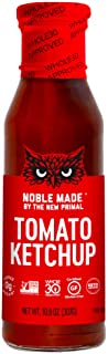 Noble Made by The New Primal Tomato Ketchup, Whole30 Approved, Keto Certified, Non-GMO, Gluten-Free Certified, 10.8 oz, 1 ...