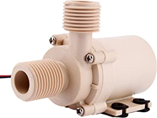 ZJchao 12v 24v Solar Dc Hot Water Circulation Pump Brushless Motor Water Pump 3m 5m 9.8Ft 16.4Ft