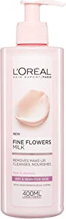 L'Oreal Paris Fine Flowers Cleansing Milk Lotion Makeup