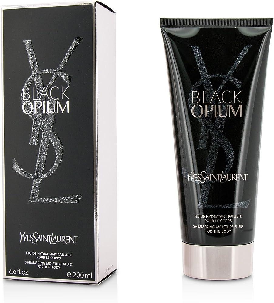 Yves saint laurent black opium, lozione per il  corpo scintillante, 200 ml BF-3614271295101_Vendor
