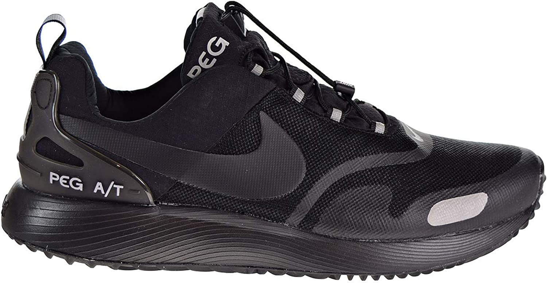 Nike Men's Air Pegasus A T Winter, Black Black-Wolf Grey