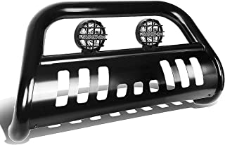 For Ford F150/250/Expedition 3 inches Black Bull Bar+6 inches Black Housing Clear Lens Fog Lights