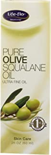 Life-Flo Pure Olive Squalane Oil Pressed From 100% Olives | Smooths & Moisturizes Skin | Softens & Conditions Hair & Cutic...