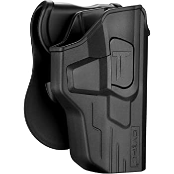 Tention adjustment .22cal /& .45cal SD9 ORPAZ Defense Level 2 retention Tactical Thmub release safety Holster Rotating 360 ROTO paddle for All Smith /& Wesson S/&W M/&P 9mm .40cal .40cal /& .45cal SD40 SD9VE M/&P M2.0 in 9mm