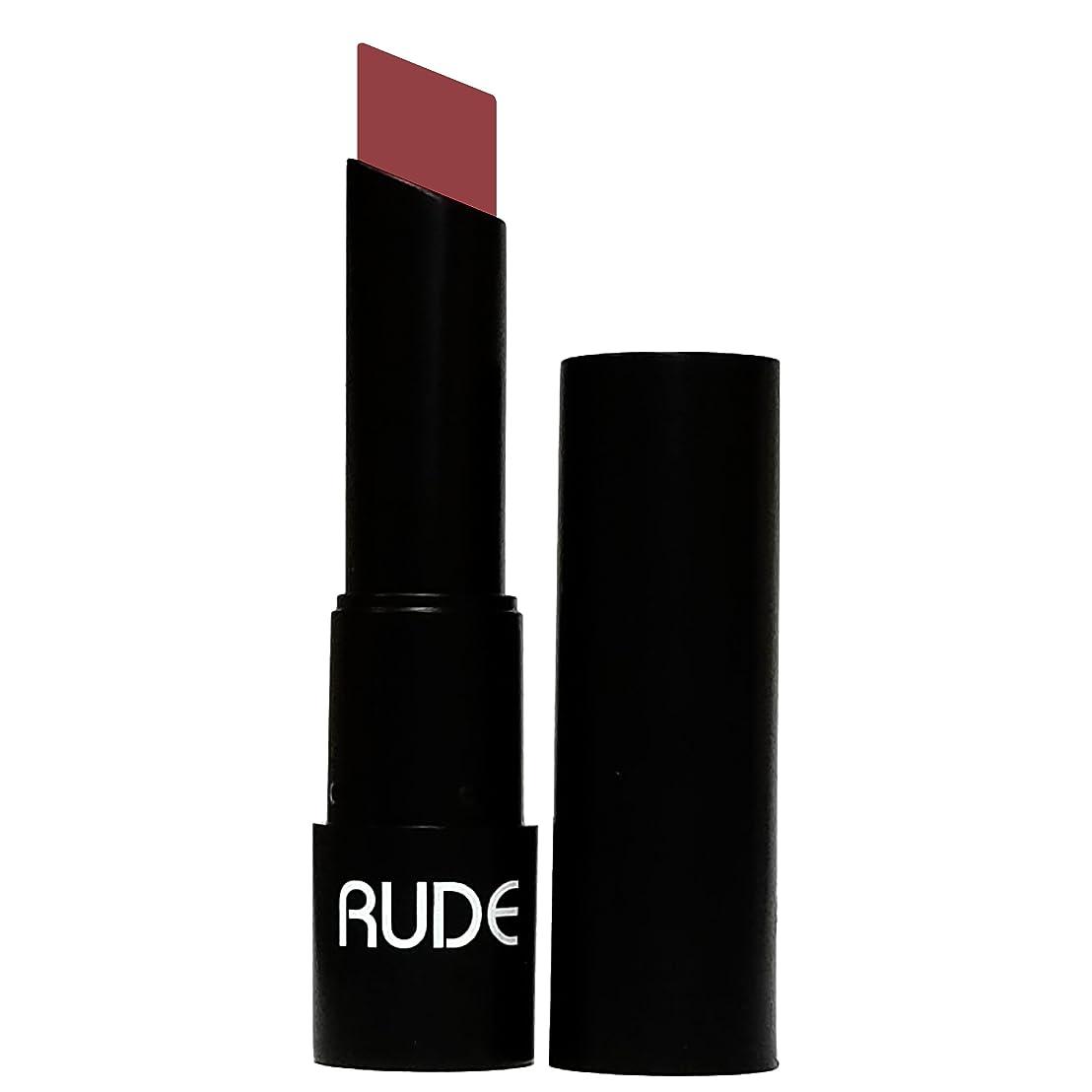 病気傾く密度RUDE Attitude Matte Lipstick - Disobedient (並行輸入品)