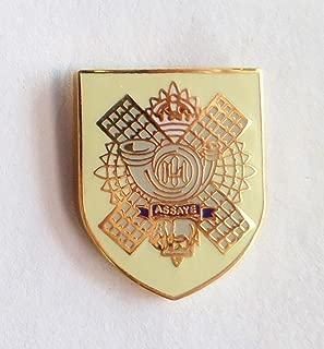 highland light infantry badge