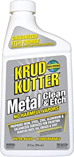 Krud Kutter ME326 Metal Clean and Etch, 32 Oz, Bottle, Translucent, Liquid, Orange