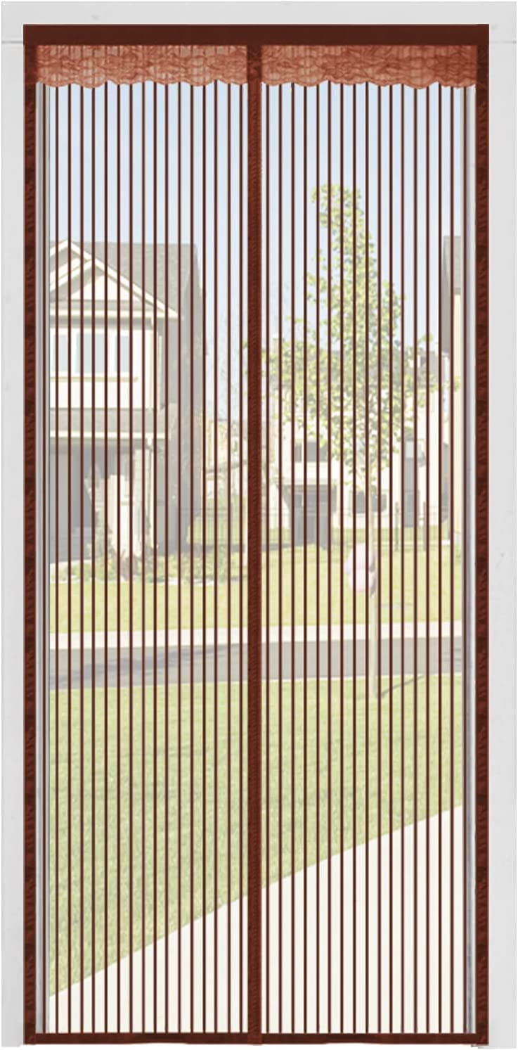 """Door Screen Limited Special Price 2021 spring and summer new Magnetic Closure 38""""x83"""" Reinforced YiiMO"""