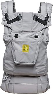 LÍLLÉbaby Complete Original 6-in-1 Ergonomic Baby and Child Carrier, Stone - 100% Cotton