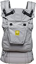 LÍLLÉbaby The Complete Original SIX-Position 360° Ergonomic Baby & Child Carrier, Grey - Cotton Baby Carrier, Comfortable and Ergonomic, Multi-Position Carrying for Infants Babies Toddlers