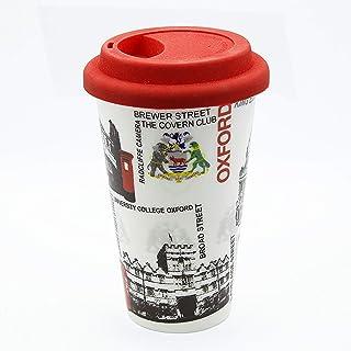 Sterling Product DWM009 Travel Double Wall Coffee Mug, Ceramic, 300 milliliters