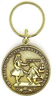 Gemelolandia Llavero Replica Moneda Blas de Lezo Vernon Cartagena 1741   Para Guardar y Tener recogidas las Llaves   Porta...