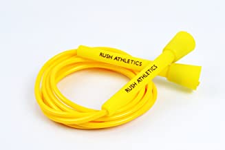 RUSH ATHLETICS Speed Rope - Best for Boxing MMA Cardio Fitness Training - Speed Agility Condition - Adjustable 10ft Jump Rope Sold