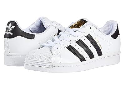 adidas Originals Kids Superstar (Big Kid) (White/Black 1) Kids Shoes