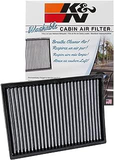 K&N Cabin Air Filter: Washable and Reusable: Designed For Select 2011-2018 Dodge/Chrysler (Challenger, Charger, 300, 300C) Vehicle Models, VF2027