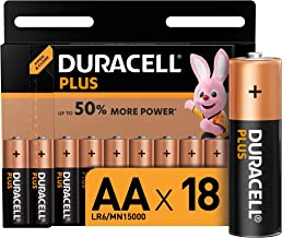 Duracell Plus AA Mignon Alkaline Batterien LR6, 18er Pack [Amazon exclusive]
