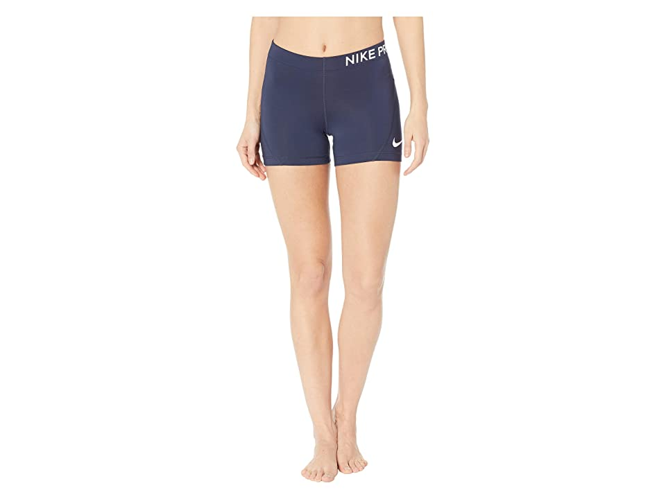 Nike Pro 3 Training Short (Obsidian/White) Women
