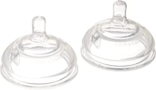 Comotomo Replacement Nipples in Variable Flow for Ages 6 Months (2-Pack)