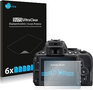 Protector de pantalla 6x para Nikon d5500 claro transparente protectora protector de pantalla