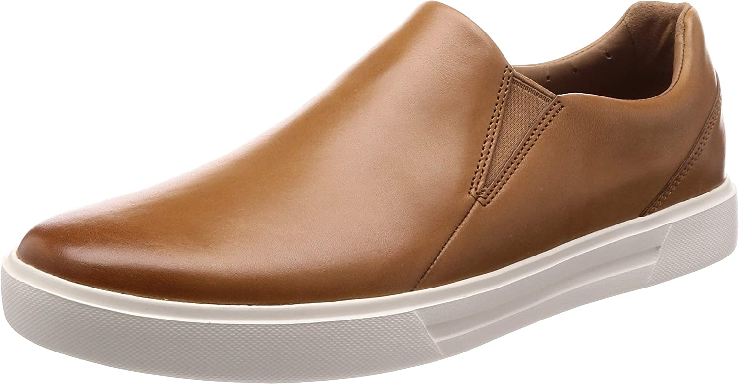 Clarks Un Costa Step Leather shoes in Tan Standard Fit Size 7