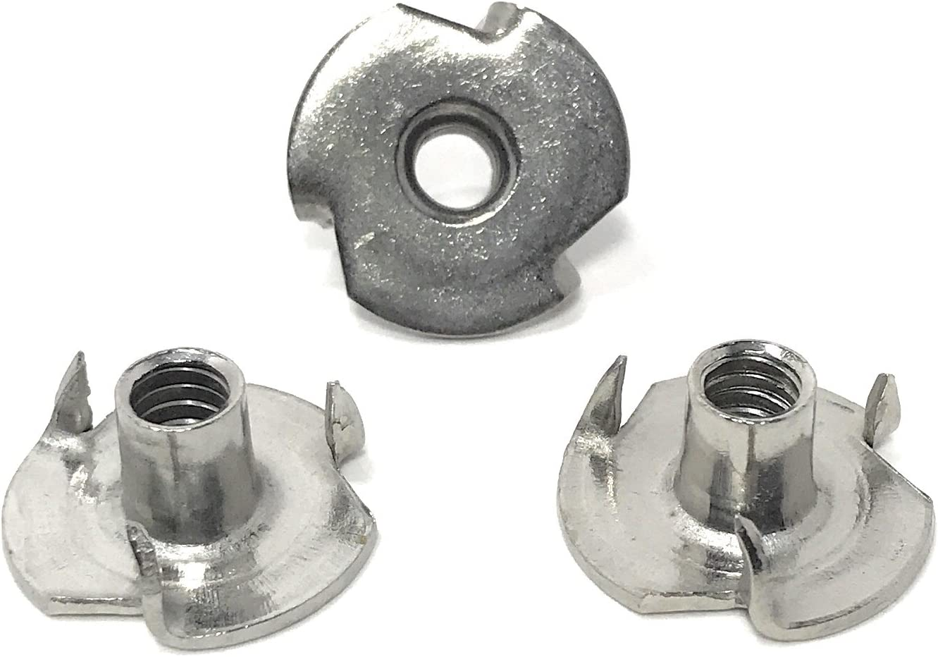 T-NUT Stainless Steel Max 58% OFF 10-24x9 32 3 Luxury goods Nuts Tee Threa Prong 10-24