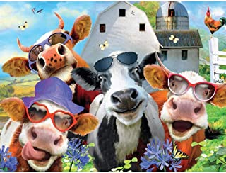 Ceaco Selfies Udderly Cool Puzzle - 550Piece