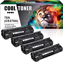 Cool Toner Compatible Toner Cartridge Replacement for  HP 78A CE278A Toner for HP Laserjet P1606dn 1606dn M1536dnf 1536dnf MFP P1566 P1560 Printer - 4 PK