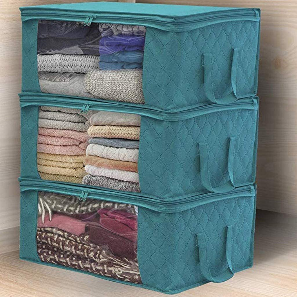 ZPTECH Max 48% OFF Drawer Organizers Clothes Quilt Bag service Storage Blanket Close