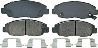 Wagner QuickStop ZD465A Ceramic Disc Pad Set Includes Pad Installation Hardware, Front