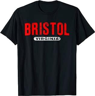 BRISTOL VA VIRGINIA Funny USA City Roots Custom Vintage Gift T-Shirt