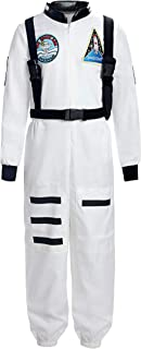 ReliBeauty Boys Girls Kids Children Astronaut Role Play Costume
