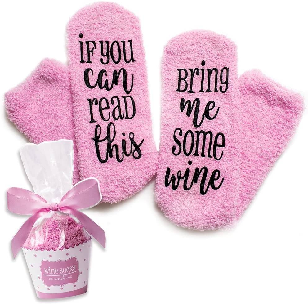 cinch Luxury Wine Socks with Gift Packaging Spring new work one after another If Cupcake Don't miss the campaign You