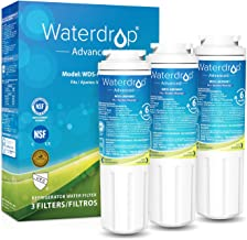 Waterdrop UKF8001 NSF 53&42 Certified Refrigerator Water Filter, Compatible with Maytag UKF8001AXX-750, UKF8001AXX-200, Whirlpool 4396395, 469006, Filter 4, PUR, Puriclean II, EDR4RXD1, Pack of 3