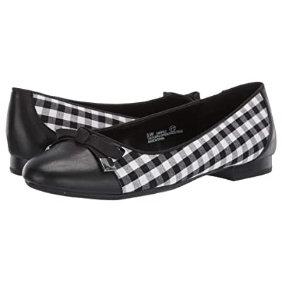 A2 by Aerosoles Handout (Black/White Combo Fabric) Women