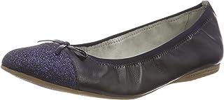 TAMARIS 女 芭蕾鞋 1-1-22129-20 737 海军蓝/魅力 38