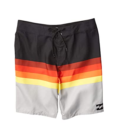Billabong Platinum Stripe Boardshorts (Black) Men
