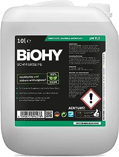BiOHY Miękkie mydło (kanister 10l)   Środek do czyszczenia podłóg KONCENTRAT   Naturalne składniki   zastosowanie na wszys...