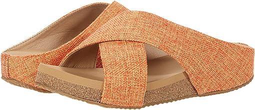 Burnt/Orange Linen
