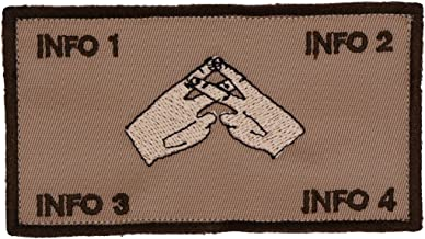 Flak Identification Tag Patch or Plate Carrier ID Tag Terminal Lance Version ((LIGHT HANDS))