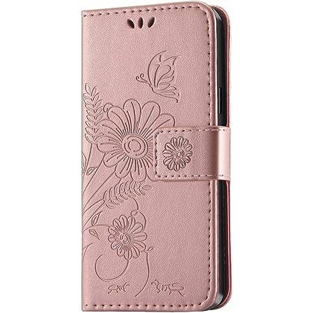 Kazineer Samsung Galaxy S8 Hülle Samsung S8 Handyhülle Leder Tasche Schutzhülle Brieftasche Etui Für Samsung Galaxy S8 Case Pink Gold Garten