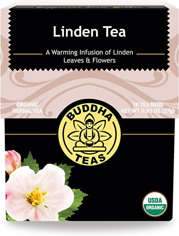 Organic Linden Tree Flower Tea Kosher Caffeine Free GMO Free 18 Bleach Free Tea Bags